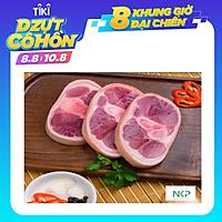 [Chỉ Giao Tân Bình, Tân Phú, Gò Vấp] - Khoanh giò heo đã cắt khúc NKP 1kg