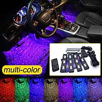 [Remote&Voice Control] Multi-Color USB LED Multi Color Car Interior Neon Lights Lamps