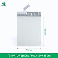 MT3A - 50x35 cm - 300 túi nilon 2 lớp đóng hàng thay thùng hộp carton