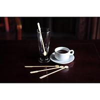 Combo 300 Que Khuấy cà phê nước tròn gỗ dài 19 cm