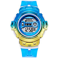 SYNOKE Digital Watch with 7-Color LED Backlight 30M Waterproof Students Sports Watches Time Week Date Display Stopwatch