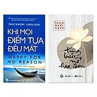 Combo 2 cuốn: Khi Mọi Điểm Tựa Đều Mất, Từng Bước Nở Hoa Sen