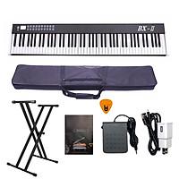 Đàn Piano Điện Bora BX-II - Đàn, Chân, Bao, Nguồn 88 Phím nặng Cảm ứng lực BX-02 - Kèm Móng Gẩy DreamMaker (Kết nối máy tính và điện thoại, Bluetooth, Pin sạc, Loa lớn)