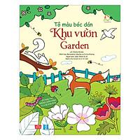 Tô Màu Bóc Dán - Khu Vườn - Garden