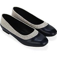 Giày búp bê phối vải tweed - Sablanca 5050BB0048
