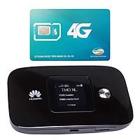 Thiết bị phát wifi 3G/4G Huawei E5786 300 Mbps + Sim Viettel Trọn Gói 12 Tháng 4GB/tháng - Hàng nhập khẩu