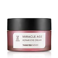 Kem dưỡng da vùng mắt chống lão hoá Thank You Farmer Miracle Age Repair Eye Cream 20g