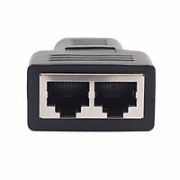 Đầu Chia Cáp Mạng LAN Ethernet CAT5/CAT 6 1 Ra 2