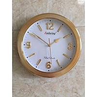 Đồng hồ treo tường 31cm xi vàng số nỗi