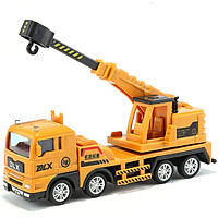 Xe đồ chơi mô hình KAVY xe cần cẩu cứu hộ NO.8807 cho bé chất liệu nhựa an toàn, kích thước lớn