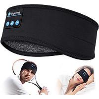 Sleep Headphones Bluetooth Headband-Wireless Sports Headband Headphones with Ultra-Soft Music Headband