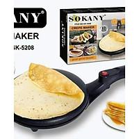 Máy Làm Bánh Crepe Sokany 5208- Hàng Chính Hãng- Giao Màu Ngẫu Nhiên