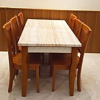 Bộ bàn ăn nhập khẩu 6 ghế HTP - BA18