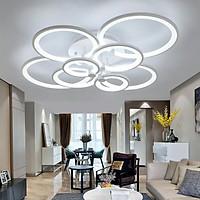 Đèn trang trí - đèn trần LED 8 cánh 3 chế độ ánh sáng có điều khiển từ xa tăng giảm NATURAL LAMP