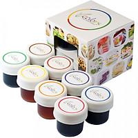 Màu thực phẩm VCOLORS hộp 8 màu