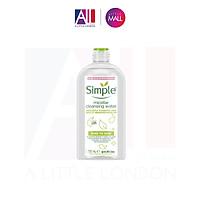 Nước tẩy trang Simple Kind To Skin Micellar Cleansing Water 730ml