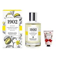 Nước Hoa Pháp Berdoues 1902 Amande & Tonka Eau De Toilette 100ml + Tặng Kèm 1 Sữa Tắm Berdoues 1902 Shower 50ml