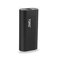 Sạc Dự Phòng 2 Pin Li-ion 18650 2 Cổng USB Có Màn Hình Hiện Thị LCD Thông Minh DIY Tomo P2