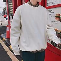Áo Sweater Nam Nữ Form Rộng - nỉ chui thường không nón