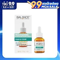 Serum Ngừa Mụn Niacinamide Dưỡng Trắng và Mờ Thâm Mụn - Balance Niacinamide - Giấy Kiểm Định An Toàn
