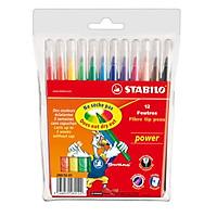Bút Lông Tô Màu Đầu To 12 Cây