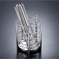 Ống đựng muỗng đũa inox 304 - 15.5x12.7cm