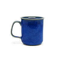 Cốc cà phê đại   Đông Gia -  màu men  hỏa biến tự nhiên xanh Sapphire 34