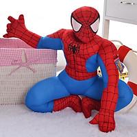 Gấu bông siêu nhân nhện size 90cm hàng vải nhung cao cấp