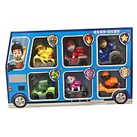 Bộ đồ chơi lắp ráp biến hình 6 chú chó cứu hộ Paw Patrol trẻ em