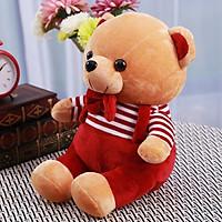 ZAK! Plush toy creative cute cartoon cute cartoon strap teddy bear doll doll child birthday gift cloth doll 25cm
