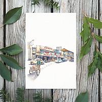 Tranh Poster Sài Gòn xưa | Đường phố Sài Gòn | Soyn SGX012