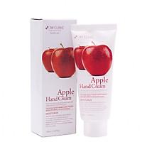 Kem dưỡng da tay tinh chất táo Hàn Quốc 3W Clinic (100ml) Hàng Chính Hãng
