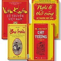 Combo 4 cuốn sách phong thủy bói kiều,phong thủy,văn khấn ,nghi lễ