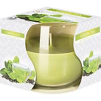 Ly nến thơm tinh dầu Bispol Green Tea 100g PTT024783 - hương trà xanh