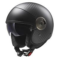Mũ Bảo Hiểm 3/4 LS2 Cabrio Carbon OF597