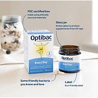 Men vi sinh OptiBac for Everyday Wellbeing tăng cường và duy trì sức khỏe hằng ngày 30 viên - Nhập khẩu UK