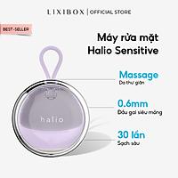 Máy Rửa Mặt Và Mát Xa Da Mặt Cho Da Nhạy Cảm Halio Sensitive - Light Purple