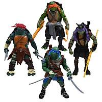 Combo 04 Mô Hình Nhân Vật Ninja Rùa - Cao 12 Mẫu 02