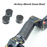Archery Absorb Sweat Band Non-Slip Stretchy Handle Grip Bow Tape Band Wrap for Compound Recurve Bow