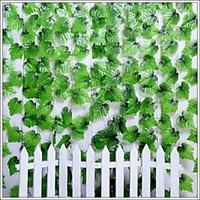 Set 12 dây lá nho xanh trang trí nhà cửa,quán cafe, sân vườn, nhà hàng