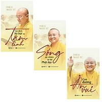 SÁCH - Con đường an vui, Gia đình, xã hội và tâm linh, Sống an nhiên từ lời Phật dạy (Bộ)