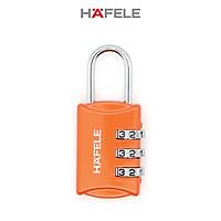 Khóa số Hafele 20302 màu cam - 482.09.002 (Hàng chính hãng)
