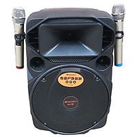 Loa kẹo kéo karaoke bluetooth di động Sansui A15-66 - Hàng nhập khẩu