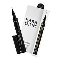 Bút Kẻ Viền Mắt Karadium Waterproof Brush Liner Black 0.55g