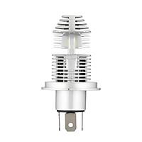 NOVSIGHT Motorcycle LED Fog lights 6000LM Headlight Bulb 6000K White Running Light 25W, Novsight H4, 360°Beam Angle HID