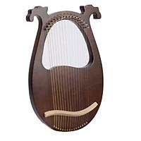 Đàn lyre 16 dây CEGAN-L016 mẫu mới có thể đeo khi biểu diễn tặng cây chỉnh dây, dây đàn dự phòng, sách hướng dẫn, túi kaki