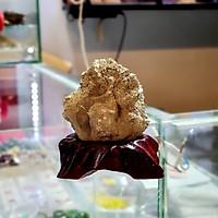 Tinh Thể Đá Vàng Găm Thiên Nhiên ( Pyrit ) – DTB002
