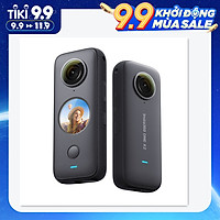 Insta360 ONE X2 FlowState Stabilization Panoramic Action Camera 5.7K 30fps LCD Touch Screen 10m Body Waterproof HDR APP