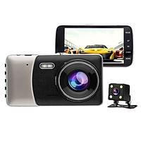 Camera hành trình ô tô Trước sau FHD 1080P - T200 (Ghi hình Cam trước & Sau)
