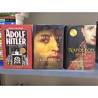 Combo 3 cuốn sách Tiểu sử kinh điển về thiên tài Leonardo da Vinci, Napoleon Đại Đế & Adolf Hilter